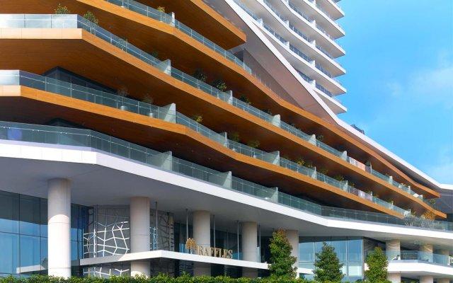 Отель Raffles Istanbul вид на фасад
