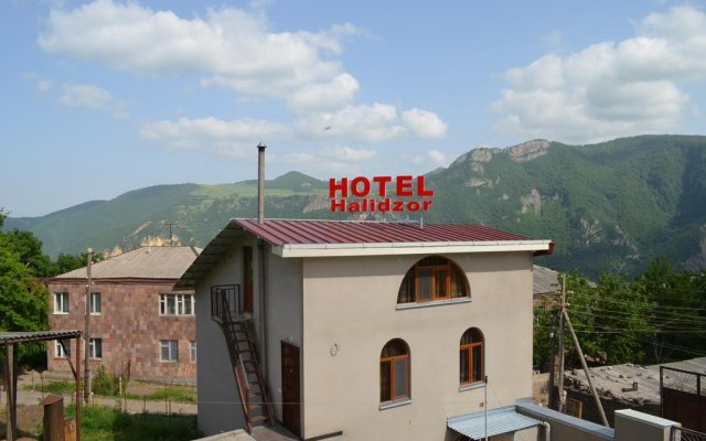 Hotel Halidzor вид на фасад
