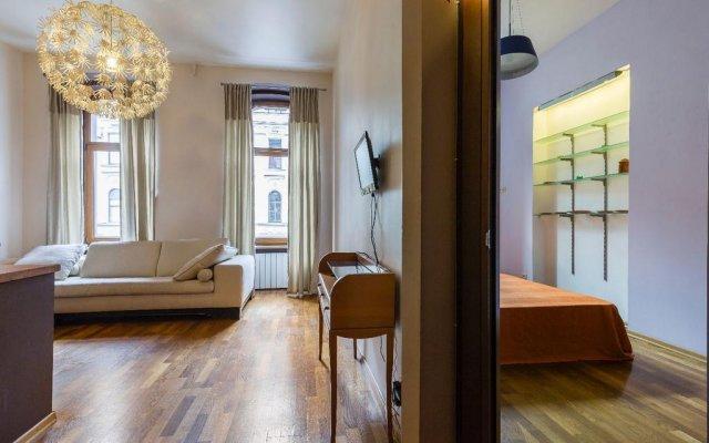 Апартаменты Apartment Na Petrogradke Санкт-Петербург комната для гостей