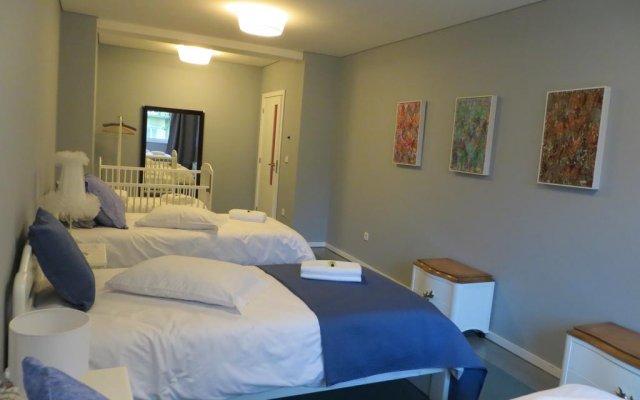 Hostel Cruz Vermelha комната для гостей