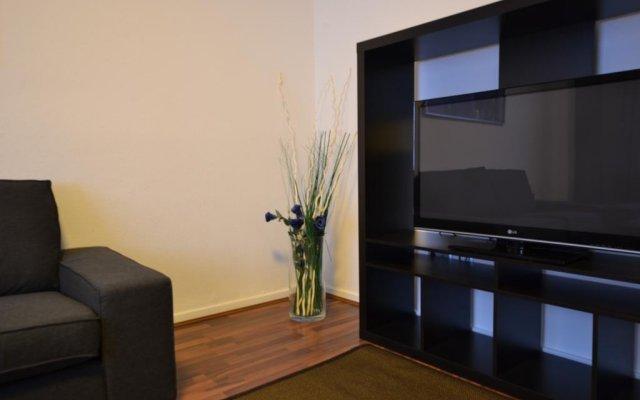 Апартаменты Apartment Zentrum Düsseldorf комната для гостей