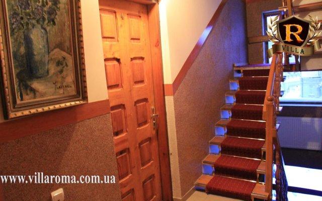 Хостел Вилла Рома вид на фасад