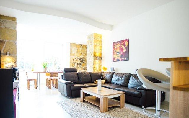 Отель Villa am Park Apartment Германия, Дрезден - отзывы, цены и фото номеров - забронировать отель Villa am Park Apartment онлайн комната для гостей