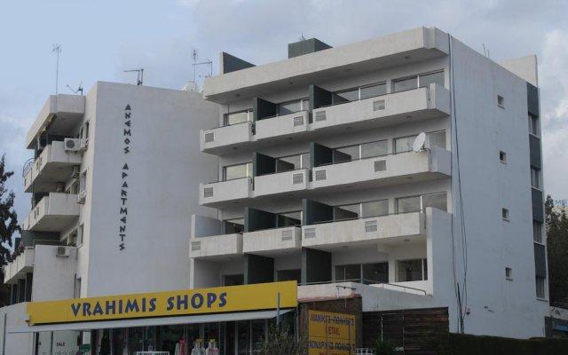 Апартаменты Anemos Apartments вид на фасад