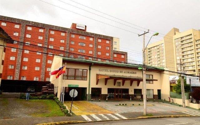 Hotel Diego de Almagro Puerto Montt вид на фасад