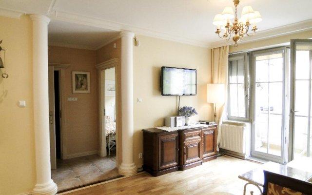 Отель Apartament Wiktor Сопот комната для гостей