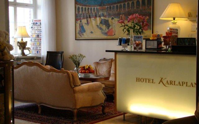 Отель Best Western Karlaplan Стокгольм интерьер отеля