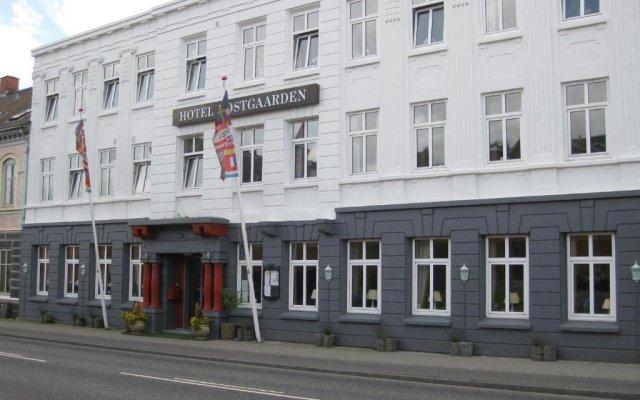 Hotel Postgaarden вид на фасад