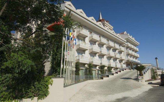 Отель Aydinbey Famous Resort Богазкент вид на фасад