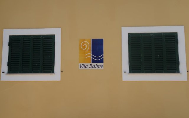 Отель Vila Bairos вид на фасад