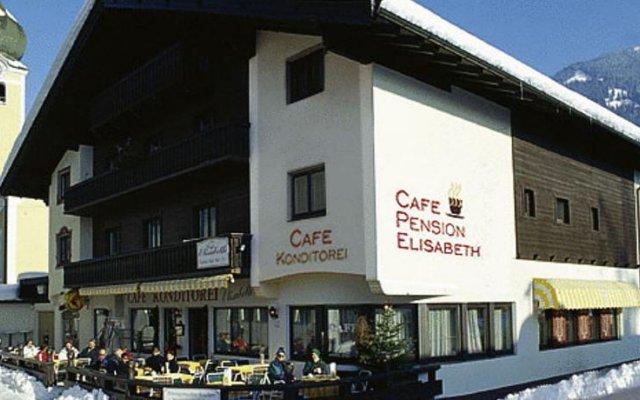 Отель Pension Elisabeth вид на фасад