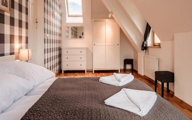 Отель udanypobyt Domy Mountain Premium Косцелиско комната для гостей