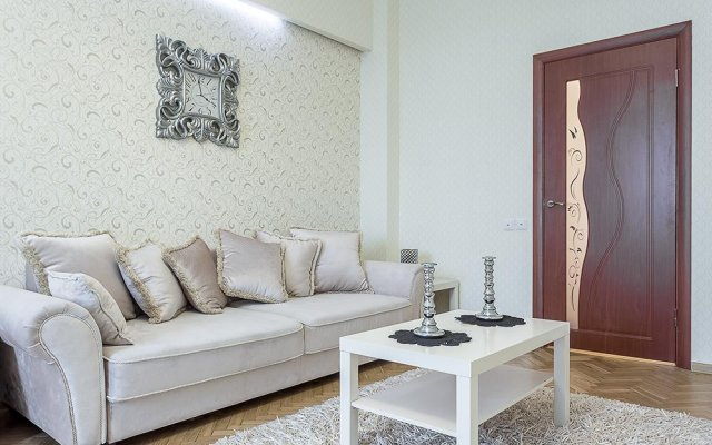 Апартаменты Apartment Studio Sutki Минск комната для гостей