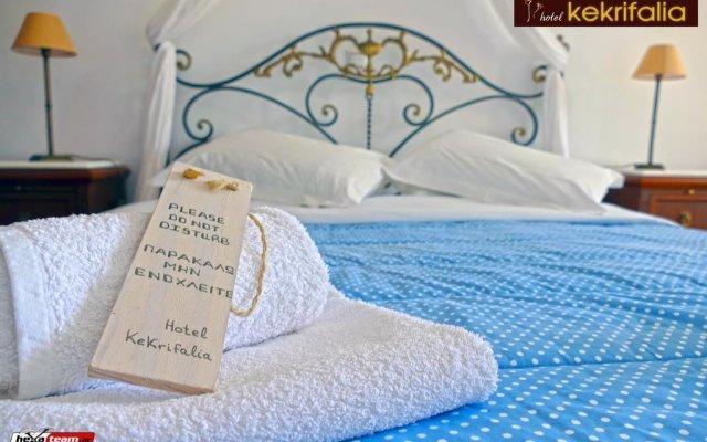 Kerkifalia Hotel комната для гостей