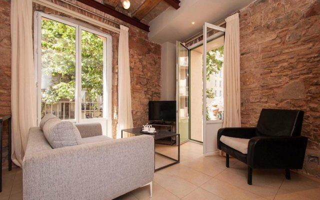 Отель Decimononico Borne Studios Барселона комната для гостей