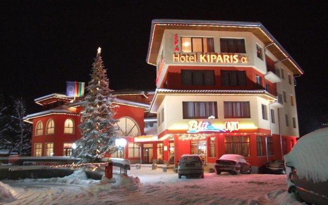 Hotel Kiparis Alfa вид на фасад