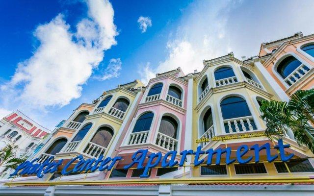 Отель Phuket Center Apartment Таиланд, Пхукет - 8 отзывов об отеле, цены и фото номеров - забронировать отель Phuket Center Apartment онлайн вид на фасад