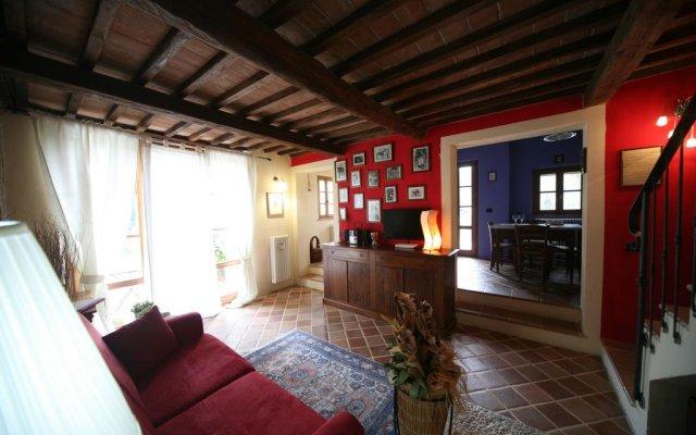 Отель Le Balze Rosse Кьянчиано Терме комната для гостей