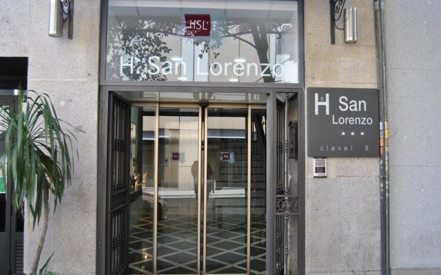 Hotel San Lorenzo вид на фасад