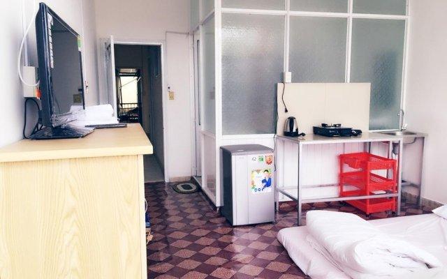 Отель Hoang Phuc Motel Далат комната для гостей