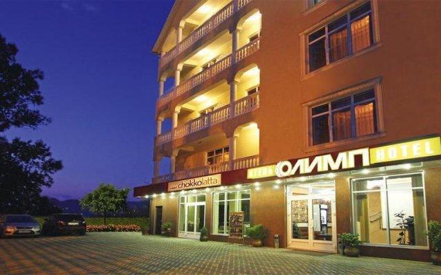 Гостиница Олимп вид на фасад