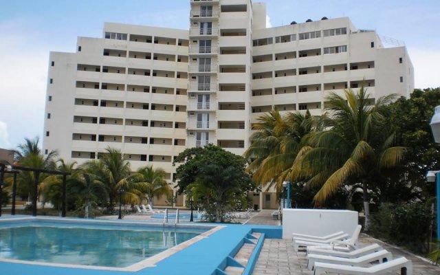 Отель Calypso Hotel Cancun Мексика, Канкун - отзывы, цены и фото номеров - забронировать отель Calypso Hotel Cancun онлайн вид на фасад