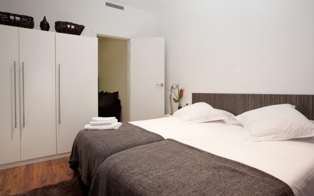 Апартаменты Centric Apartment Plaza Espana Fira Monjuic Барселона комната для гостей