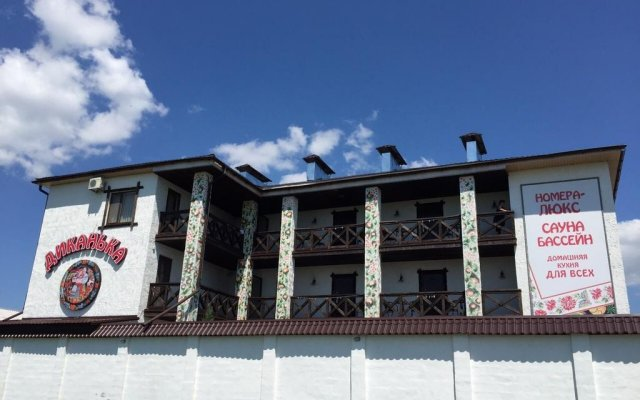 Гостиница Dikanka вид на фасад