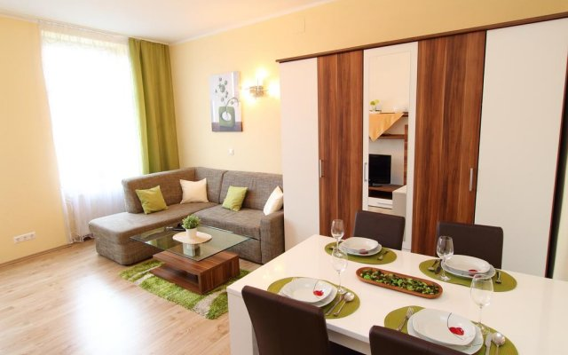 Апартаменты Klimt Apartments Вена комната для гостей