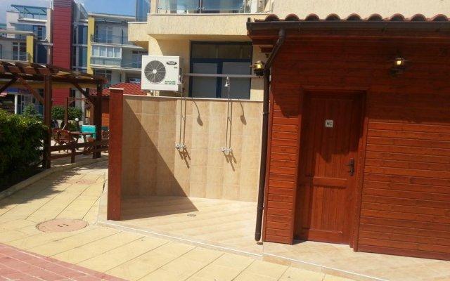 Апартаменты Rainbow Economy Studio Nova вид на фасад