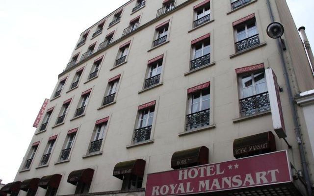 Отель Royal Mansart Франция, Париж - 14 отзывов об отеле, цены и фото номеров - забронировать отель Royal Mansart онлайн вид на фасад