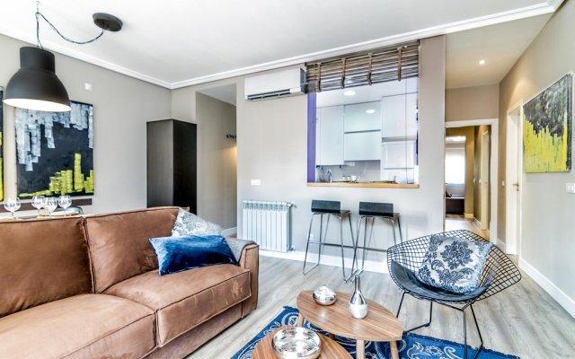 Апартаменты Habitat Apartments Latina комната для гостей