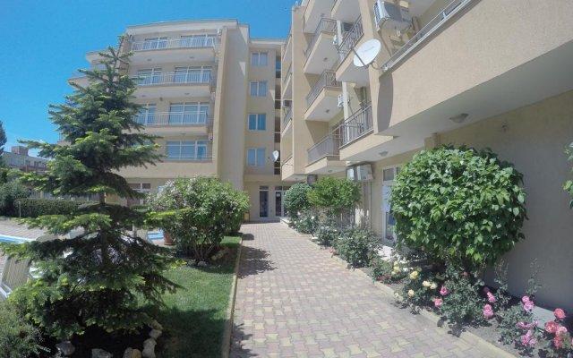 Отель VP Kamelia Garden Studios Солнечный берег вид на фасад
