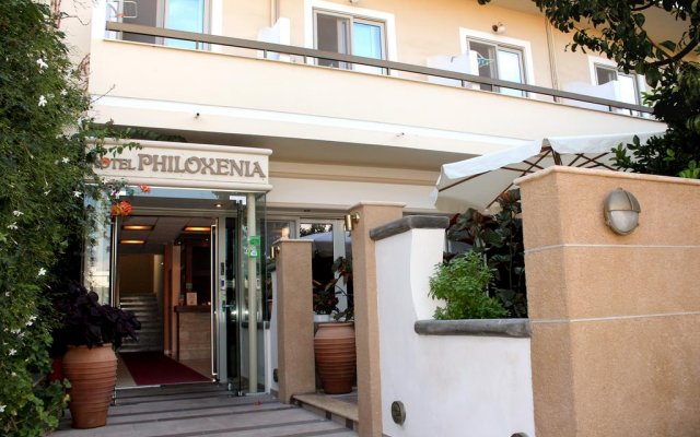 Отель Philoxenia Hotel & Studios Греция, Родос - отзывы, цены и фото номеров - забронировать отель Philoxenia Hotel & Studios онлайн вид на фасад