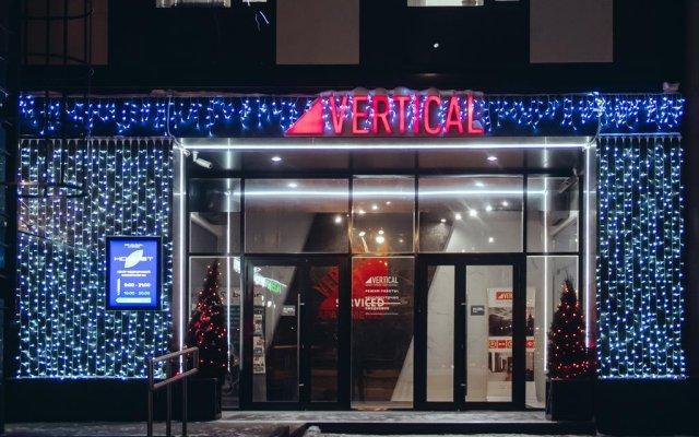 Гостиница Апарт-отель Вертикаль в Санкт-Петербурге - забронировать гостиницу Апарт-отель Вертикаль, цены и фото номеров Санкт-Петербург вид на фасад