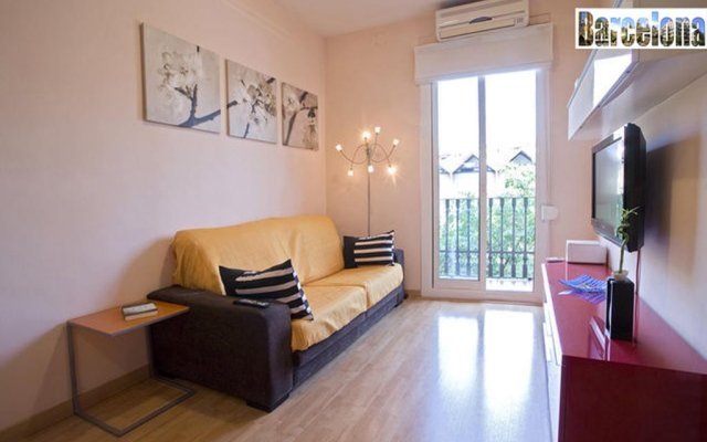 Апартаменты Barcelona Centric Apartment комната для гостей