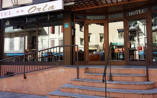 Hotel Orla вид на фасад