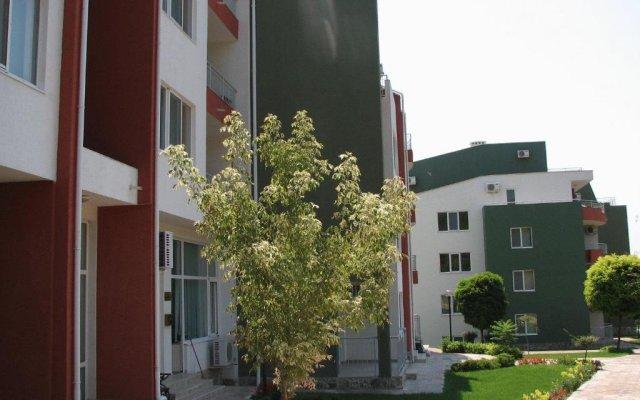 Отель ПМГ Грийн Форт Болгария, Солнечный берег - отзывы, цены и фото номеров - забронировать отель ПМГ Грийн Форт онлайн вид на фасад