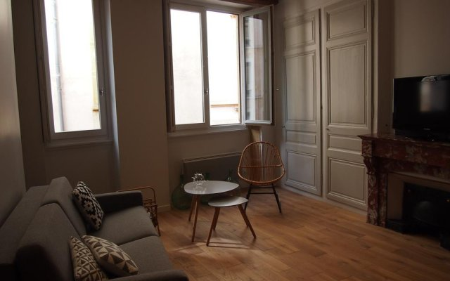 Отель Apt. Vieux Lyon Centre Historique комната для гостей