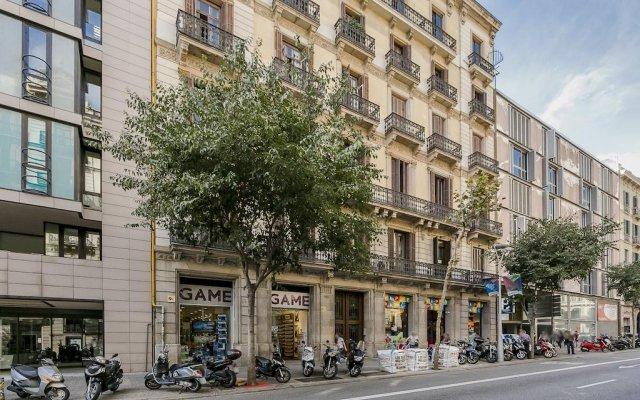Апартаменты BCN Paseo de Gracia Rocamora Apartments вид на фасад
