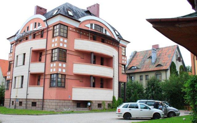 Гостевой Дом Альбертина вид на фасад