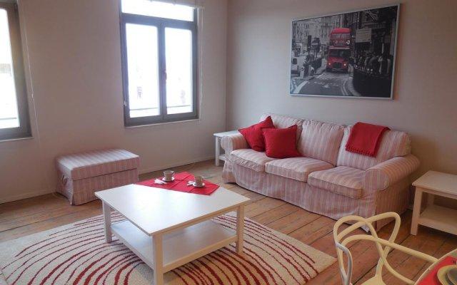 Отель Antwerp Central Flats комната для гостей