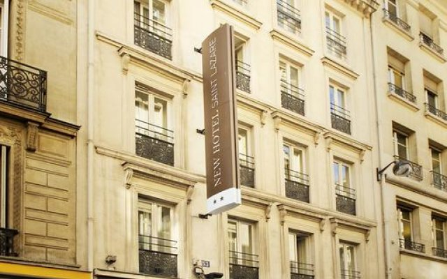 New Hotel Saint Lazare вид на фасад
