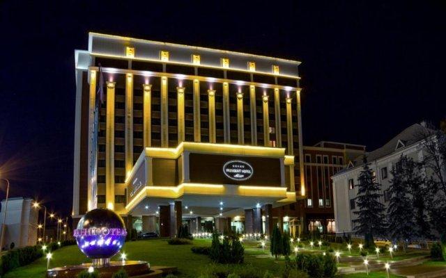 Президент-Отель вид на фасад