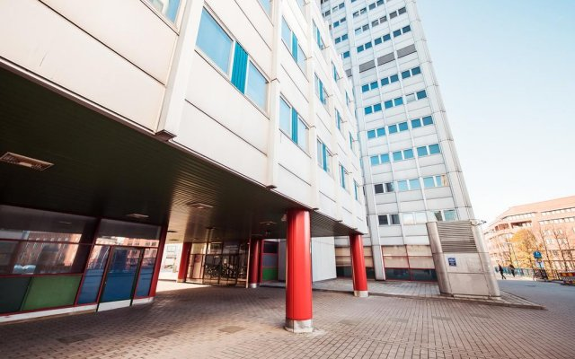 Отель Forenom Hostel Helsinki Merihaka Финляндия, Хельсинки - 1 отзыв об отеле, цены и фото номеров - забронировать отель Forenom Hostel Helsinki Merihaka онлайн парковка