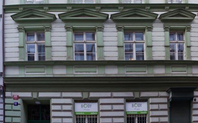 Апартаменты Prague 01 Apartments вид на фасад
