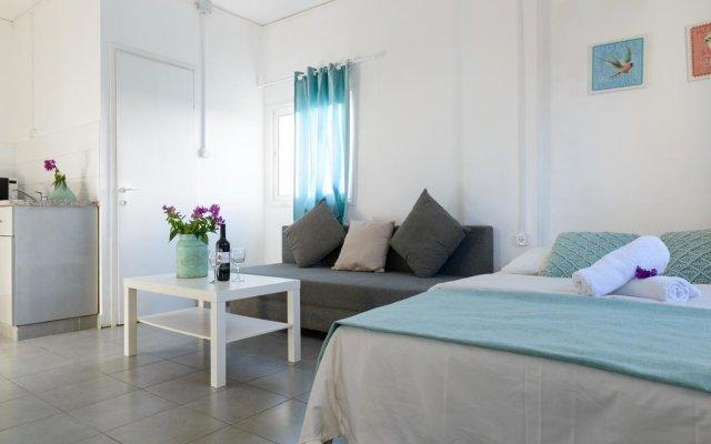 Апартаменты Hacarmel Apartment Тель-Авив комната для гостей