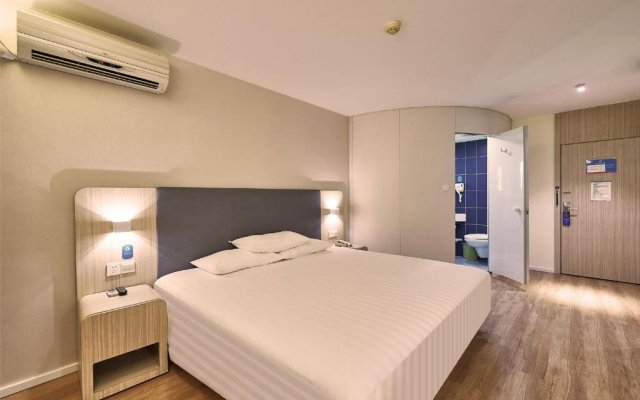 Отель Hanting Express Shanghai Bund Middle Jiangxi road комната для гостей