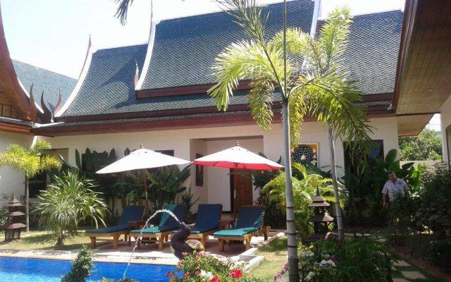Отель Villa Angelica Phuket - Baan Malinee вид на фасад