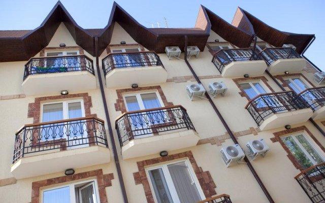 Гостиница Афродита вид на фасад